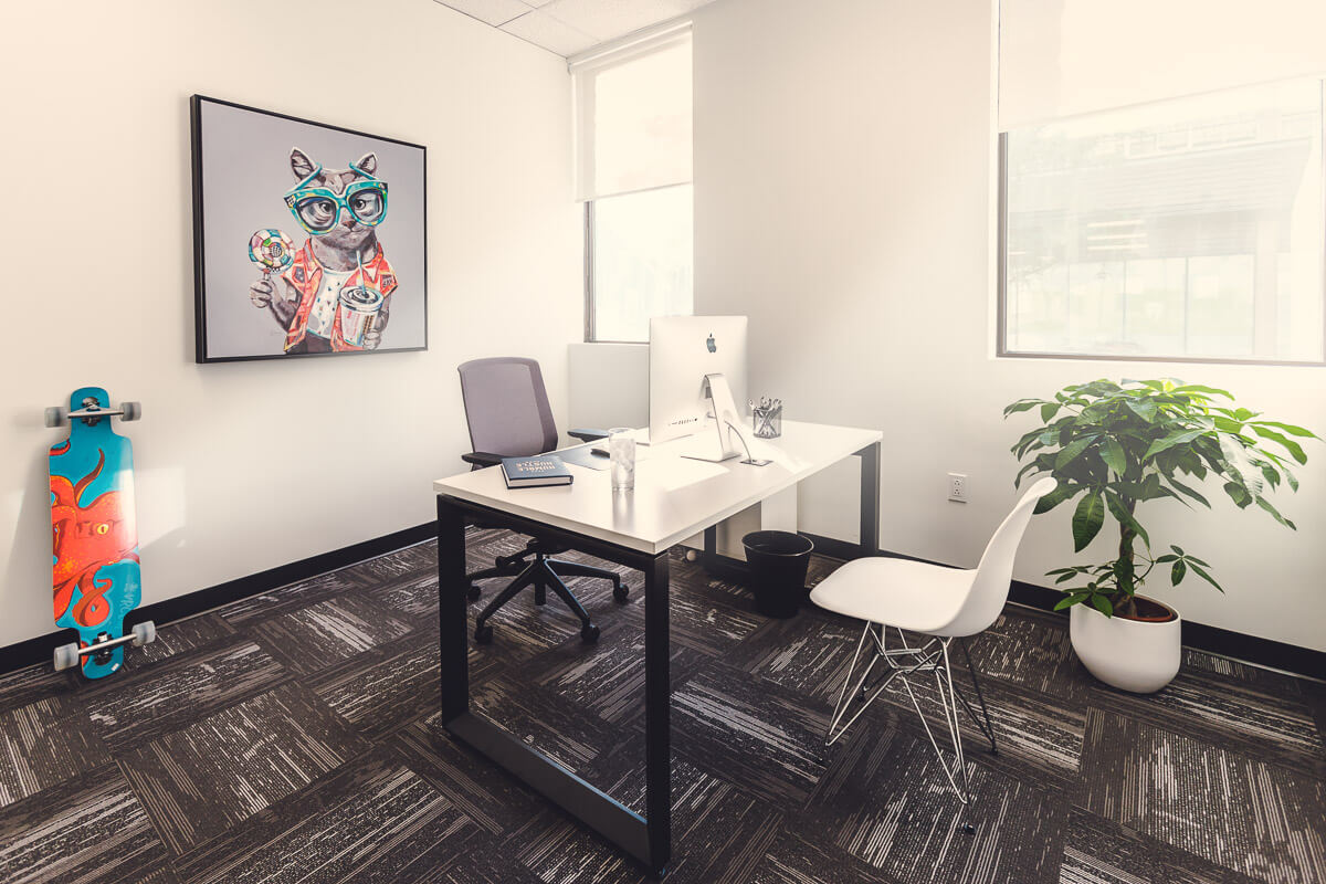 Private office Coworking and collaborative space
